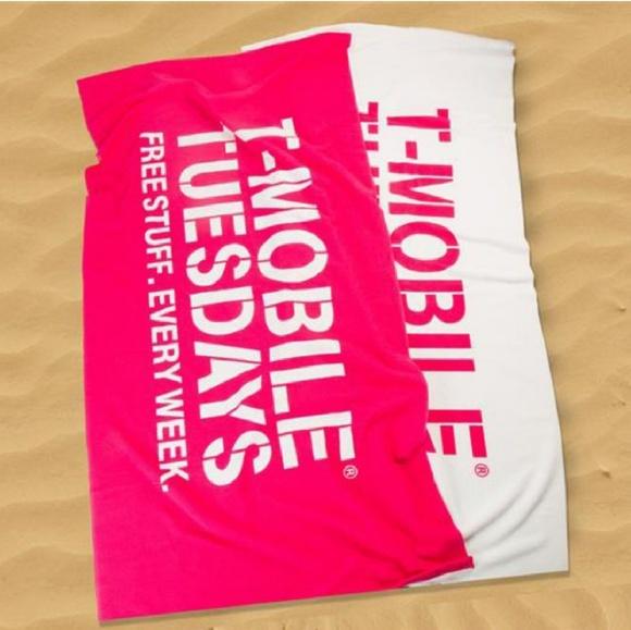 NEW TMobile Beach towel Boutique